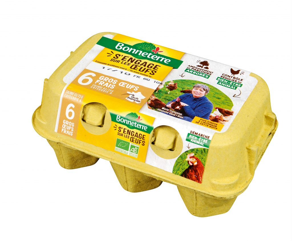 œufs frais bio