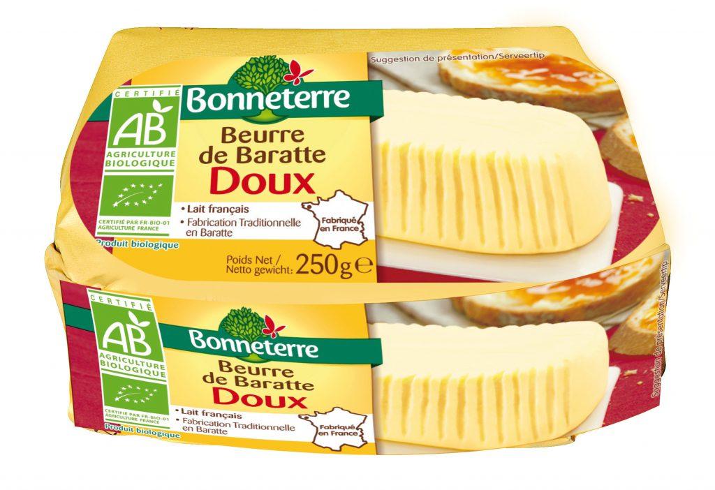 Beurre baratte doux Bio