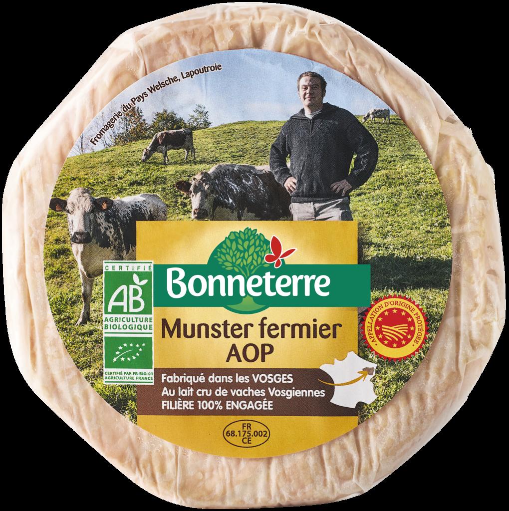 Munster fermier AOP
