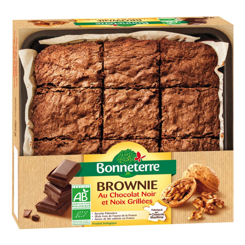 Brownie chocolat Bio