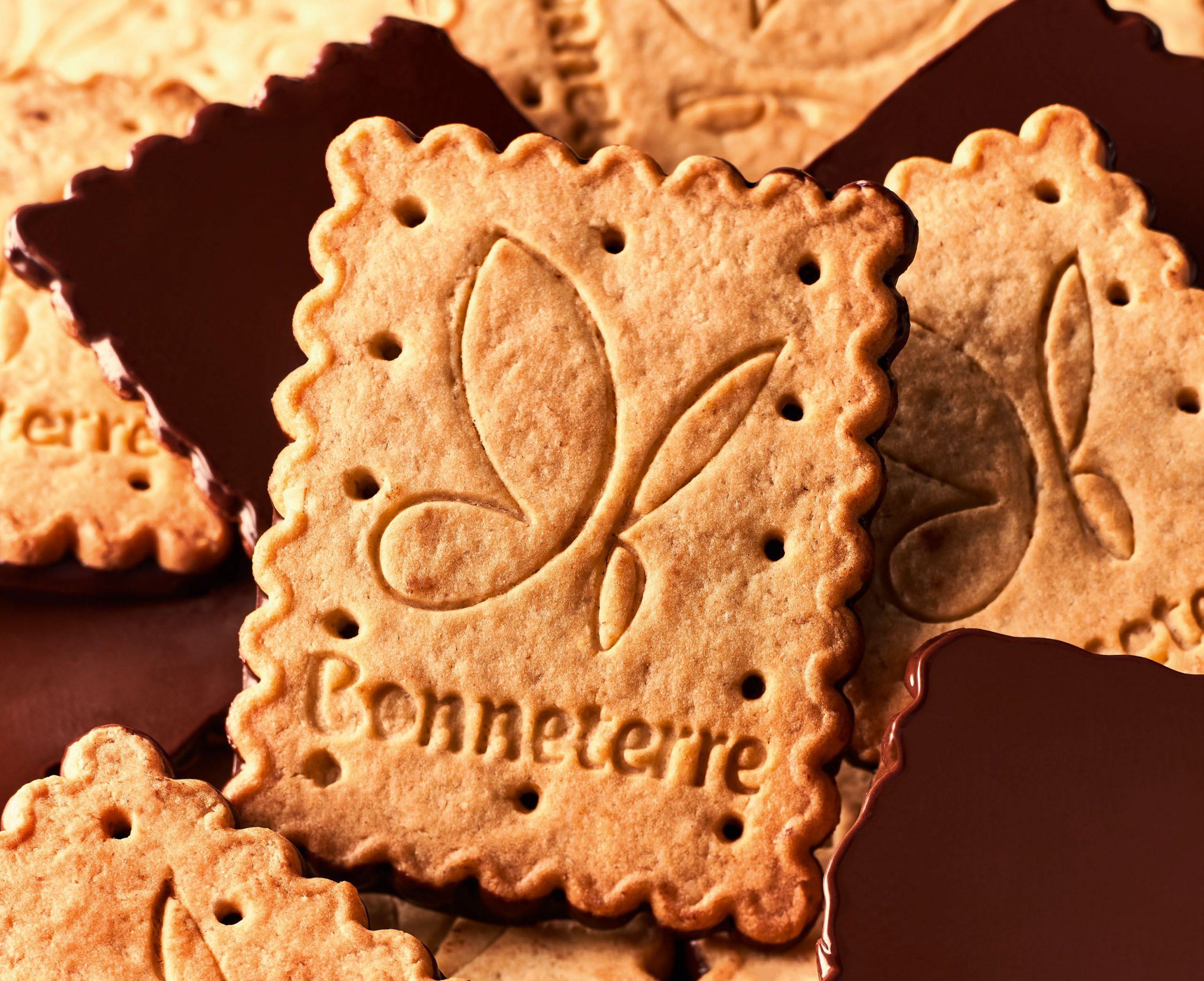 Biscuit bio au nappé chocolat