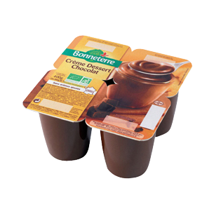 Crème dessert chocolat bio