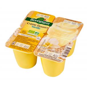 Crème dessert vanille