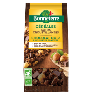 Céréales extra Croustillantes chocolat & noisettes
