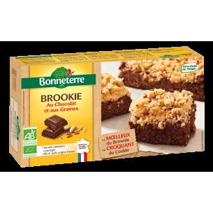 Brookie au Chocolat et aux Graines