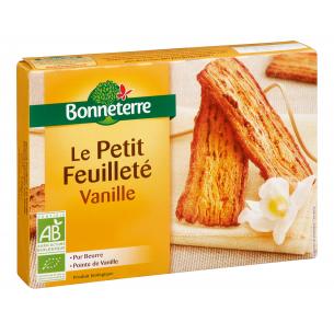 Le Petit Feuilleté à la Vanille (pur beurre)