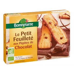 Le Petit Feuilleté aux Pépites de chocolat (pur beurre)