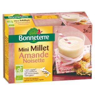 Mini Millet Amande Noisette x3