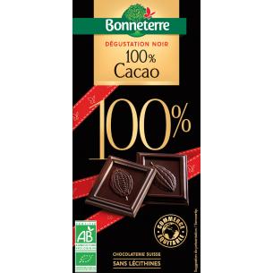 Dégustation Noir 100% Cacao