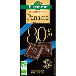 Dégustation Noir Panama 80%