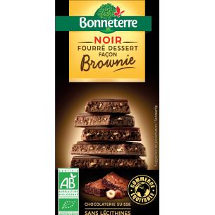 Noir Fourré Dessert Façon Brownie