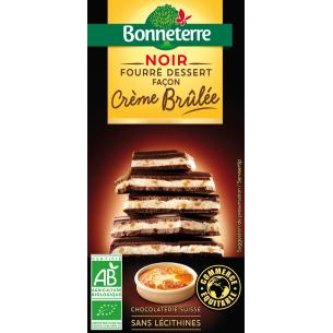 Noir Fourré Dessert Façon Crème Brûlée