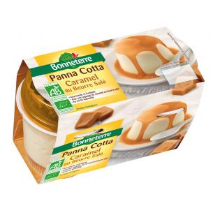 Panna Cotta et Nappage de Caramel Beurre Salé