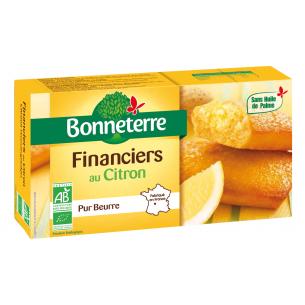 Financiers au Citron (pur beurre)