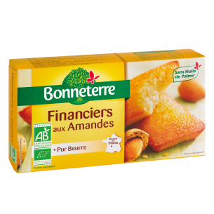 Financiers aux Amandes (pur beurre)