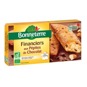 Financiers aux Pépites de chocolat