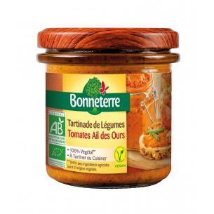 Tartinade de légumes Tomates Ail des Ours