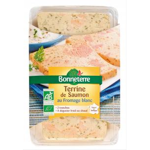 Terrine de Saumon au fromage blanc