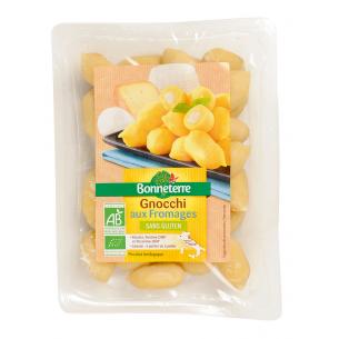 Gnocchis aux fromages sans gluten