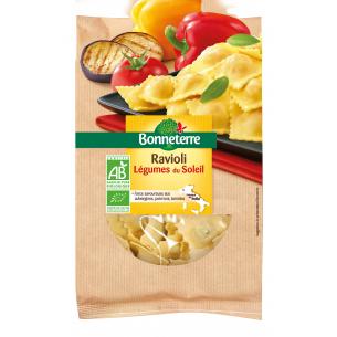 Ravioli aux légumes du soleil